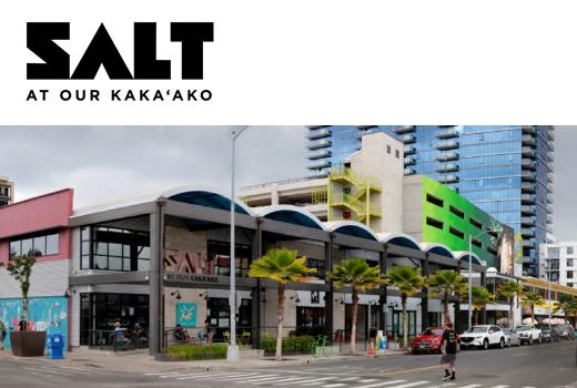 SALT at Our Kaka'ako 「ショッピングセンター・オブ・ザ・イヤー」SCOTY AWARD 2018 受賞