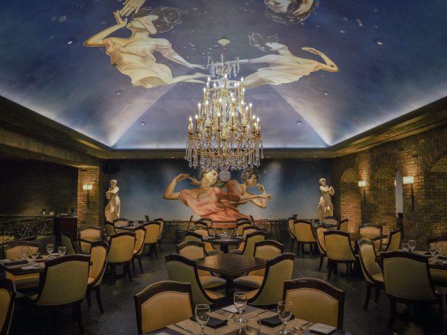 Vintage Cave Café お洒落なアールデコール調の空間で嗜む本格的なイタリアン