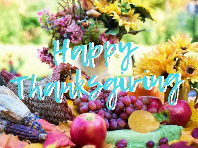 Thanksgiving Day 11/22はアメリカの感謝祭